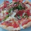 Pizza Parma von Frau Saarschmecker! Die nehme ich beim nächsten Mal!