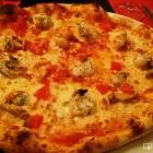 Foto zu Da Mario - Pizzeria im Tennisheim: Pizza Chef mit Garnelen