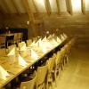 Tisch für die Seminargruppe