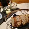 Frisches Weißbrot   Meersalz   Butter   Schmalz