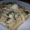 Nr. 63 Maccheroni  mit frischen Champignons und Sahne