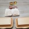 Sauber verpackte Speisen