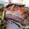 Burgertraum im Anschnitt