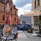 Foto zu Café Isis: Blick über den Freisitz