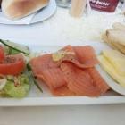 Foto zu Café Isis: Lachs zum Frühstück