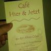 Neu bei GastroGuide: Café Hier & Jetzt