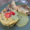 Gebratener Zander auf Kartoffel-Gurkensalat