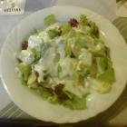 Foto zu Sirtaki Griechische und Italienische Spezialitäten: Salat zu Bifteki