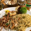 Calamari und Spaghetti