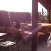 Von der Terrasse der Sonne entgegen