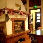 Foto zu Café Restaurant Schmuggelbud: unser Kamin im Winter