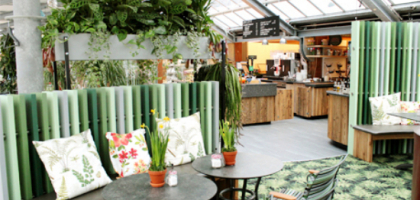 Bild von Galerie-Café im Gartencenter Seebauer