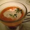 Amuse1 Tomatensuppe