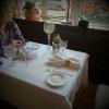 Unser Tisch am Fenster