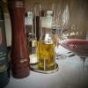 Essig/Öl zur Selbstbedienung trotz Corona