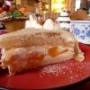 Marzipan-Pfirsich-Torte