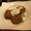 Kolokithokeftedes, Zucchini-Puffer mit Tsatsiki