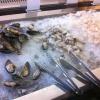 Buffet f. Meeresfrüchte