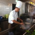 Foto zu Keio Gourmet: Showcooking am Mongolengrill