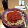 Spaghetti Bolognese große Portion 5,30 Euro
