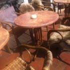 Foto zu Bäckerei Behrens-Meyer - Le Café: Sitzplätze vor dem Café