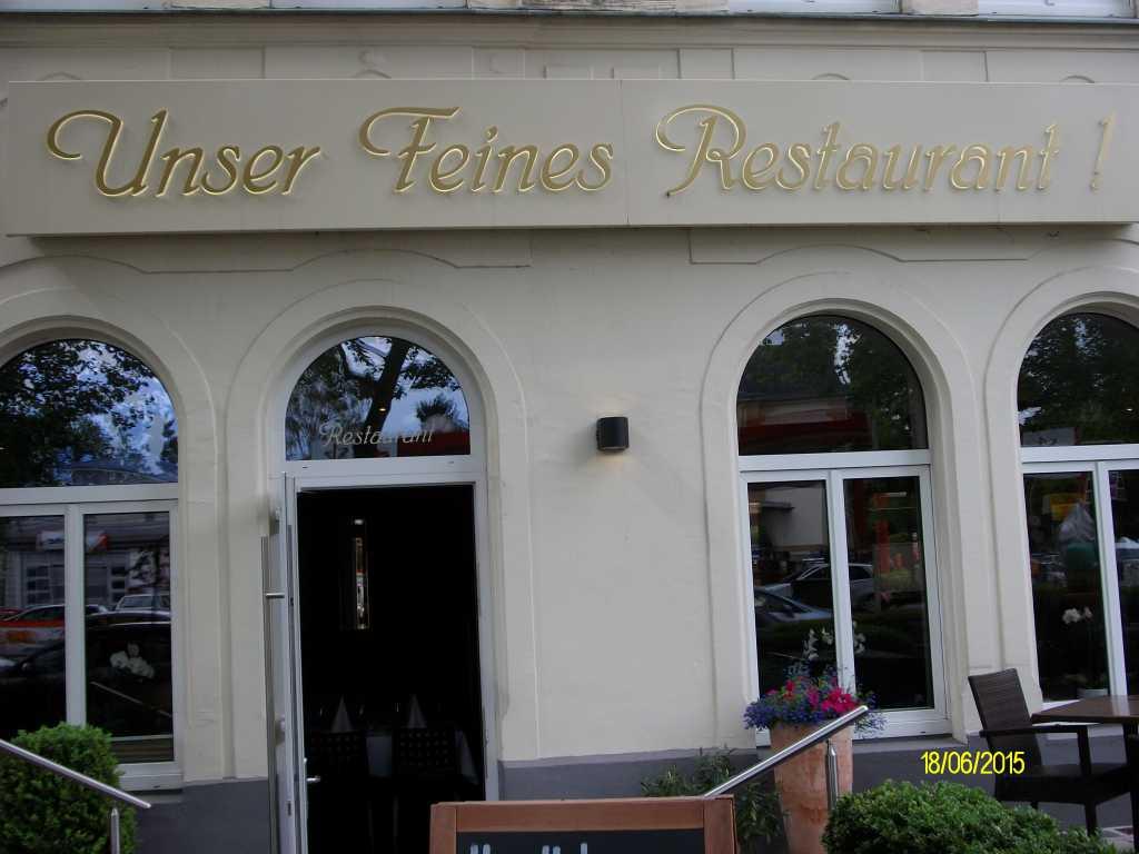 Bild zur Nachricht von Unser Feines Restaurant