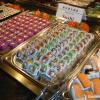 Sushi und Meeresfrüchte