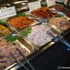 Auswahl für den mongolischen Barbecue-Grill