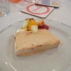 Foto zu Hotel Hochwiesmühle: Nougatparfait mit Früchtenn