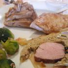 Foto zu Hotel Hochwiesmühle: Grillente, Schweinefilet im Blätterteigmantel