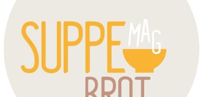 Bild von Suppe mag Brot