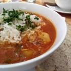 Foto zu Suppe mag Brot: Georgischer EIntopf mit Kichererbsen und Hähnchen
