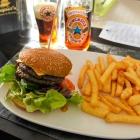 Foto zu Chaplin`s - Steakhouse & Restaurant: Black Angus Burger