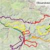 Der Streckenverlauf - 230 km in 9 Tagen