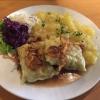 Herrgotts Bscheiserle und Kartoffelsalat