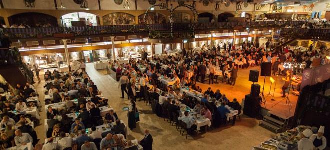 Münchner Halle auf dem Messegelände in Hannover Restaurant