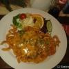 Hähnchenbrustfilet mit Rahmchampions und Twisterpommes