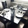 03.09.15: Eingedeckter Tisch im Kaminzimmer