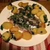 Matjesfilets mit Petersilienkartoffeln  ( 8,50 €