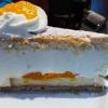 Käse-Sahnetorte mit Mandarinen