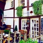 Foto zu Lindenhof Café: der Aussenbereich