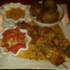 Hakuna-Matata-Shakiki (gegrillter Fleischspieß nach Mombasa Art) mit Rosmarinkartoffeln