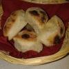 frische heiße Pizzabrötchen