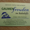Bild von Gaumenfreuden im Bahnhöfle