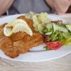 Kalbsschnitzel mit Kartoffelsalat