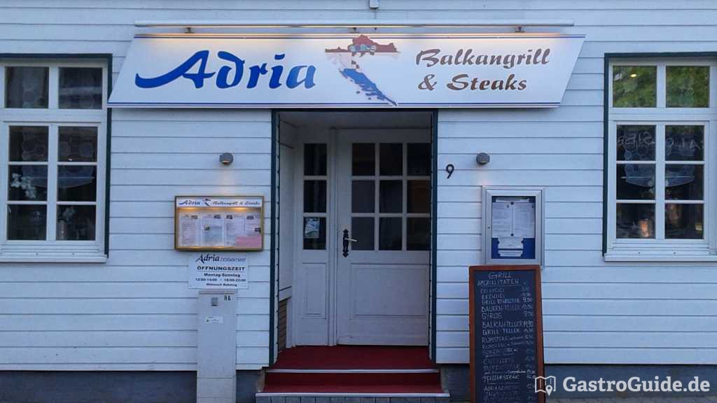 restaurant adria restaurant in 37581 bad gandersheim. Black Bedroom Furniture Sets. Home Design Ideas