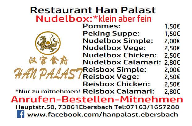 Bild zur Nachricht von Asia Restaurant Han Palast Ebersbach