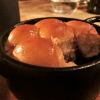 Post-Dessert: Minibuchteln, Beerensauce