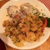 Tafelspitz mit Meerrettich und Bratkartoffeln (12,90€)