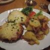Italienische Schnitzel mit Bratkartoffeln
